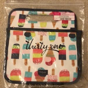 Thirty one double duty caddy sweet sprinkles NWT
